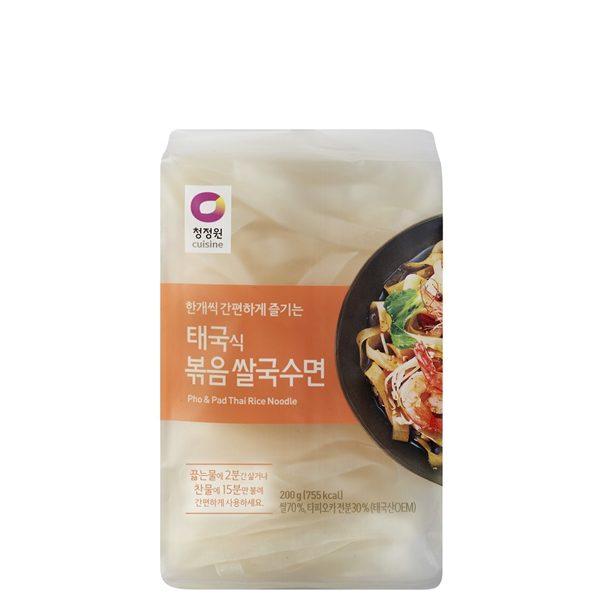 태국식 볶음 쌀국수면