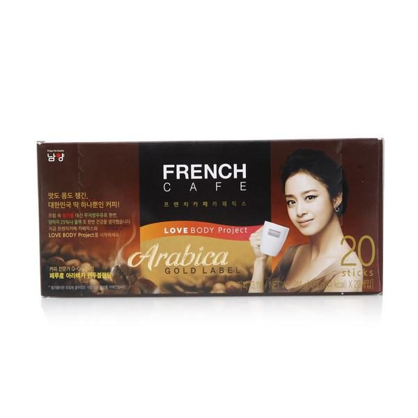french cafe coffe mix arabica gold label 20T